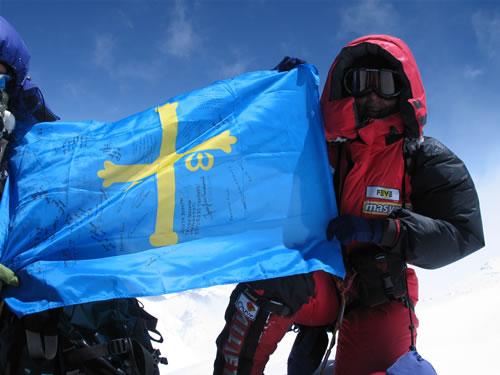 Rosa Fernández culmina la ascensión al Everest