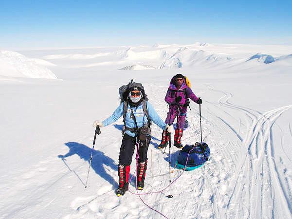 Relato Monte Vinson 4.892m
