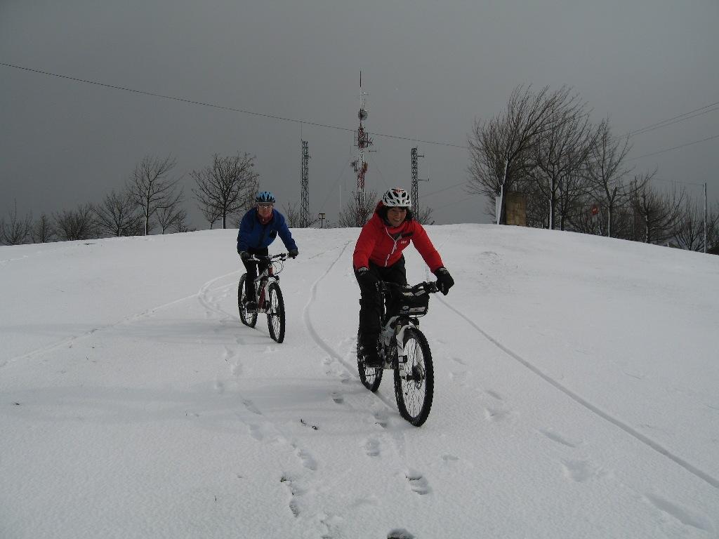 Esquiando sobre ruedas