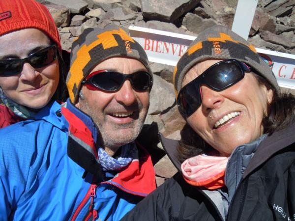 En la cumbre del Bonati (5000mtr)