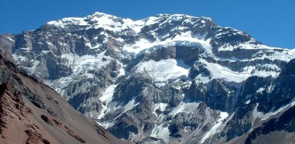 Su Majestad el Aconcagua, cara sur
