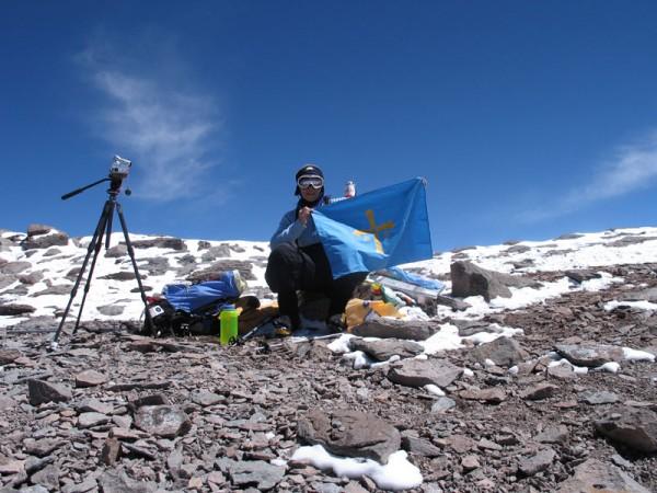 La cumbre de la Aconcagua año 2006