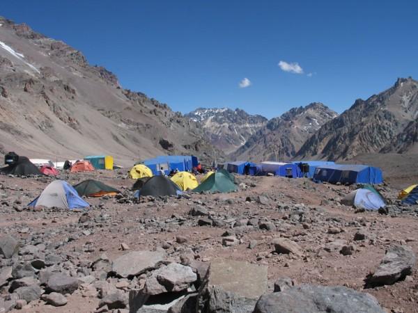 Campamento de Plaza de Mulas