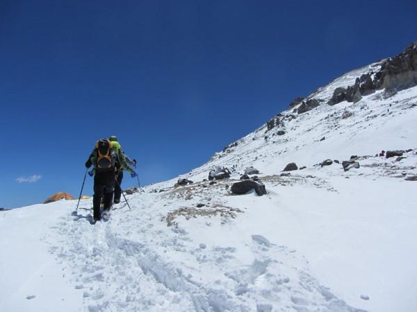 Pésimas condiciones, la montaña en su versión más hostil