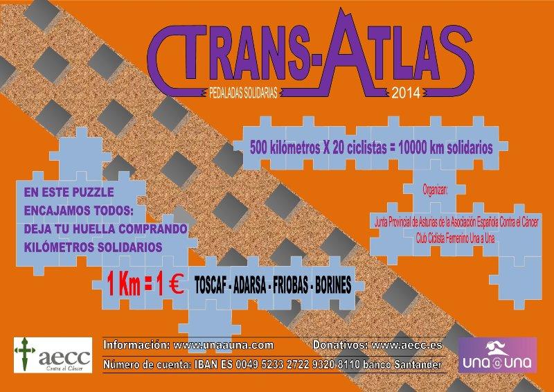 """ONDA CERO """"Pedaladas Solidarias Trans-Atlas 2014"""""""