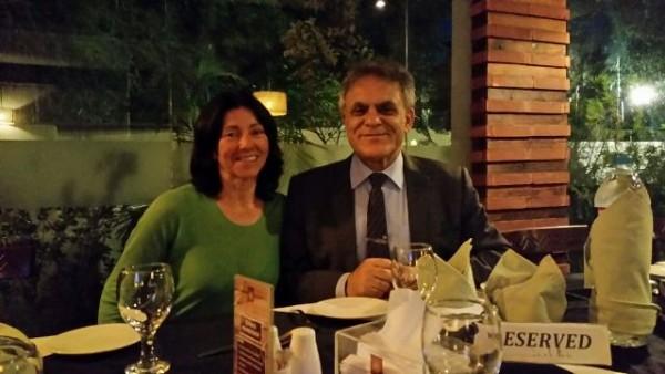 Cenando con Nazir Sabir