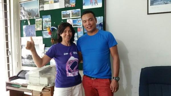 Con Dawa, de la agencia nepalí