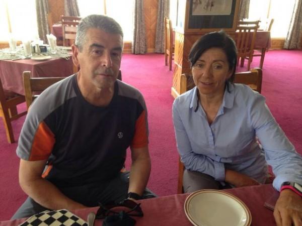 Con Alberto López