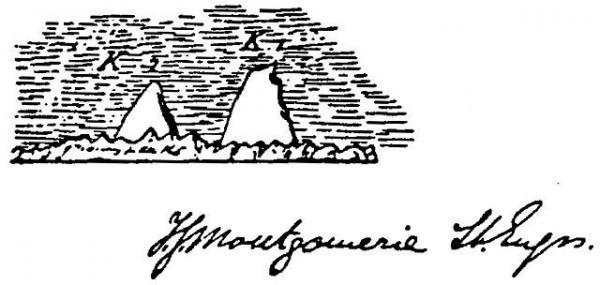 Dibujo original de Montgomerie
